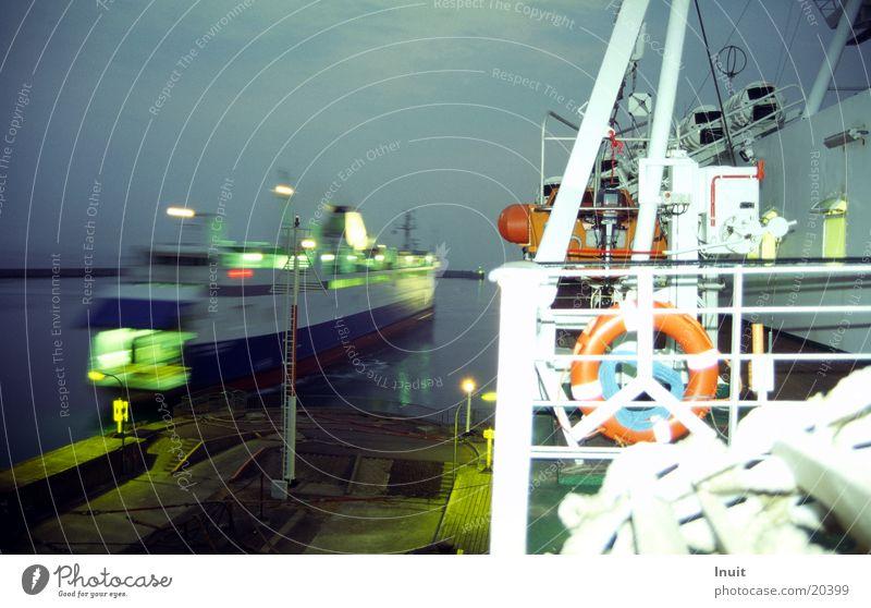 Fähre Meer Hafen Schifffahrt Dänemark Rettungsring Überfahrt