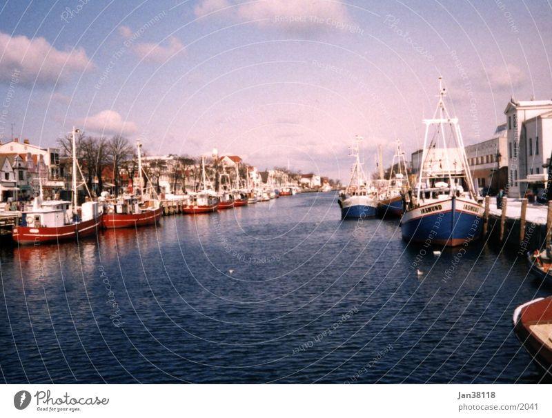 Warnemuende Wasserfahrzeug Warnemünde Hafen