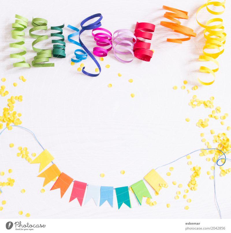 Party! Kind weiß Freude gelb Lifestyle Holz Feste & Feiern oben Design Freizeit & Hobby Dekoration & Verzierung frisch ästhetisch Geburtstag Fröhlichkeit