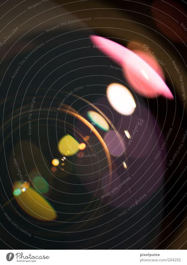 lightshow Fotografie Glas Perspektive Technik & Technologie Fotokamera Kreativität Fotografieren Objektiv Reflexion & Spiegelung Detailaufnahme Lichtfleck