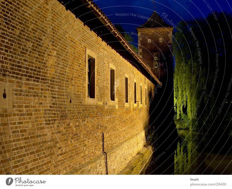 Burg Architektur Burg oder Schloss Wassergraben