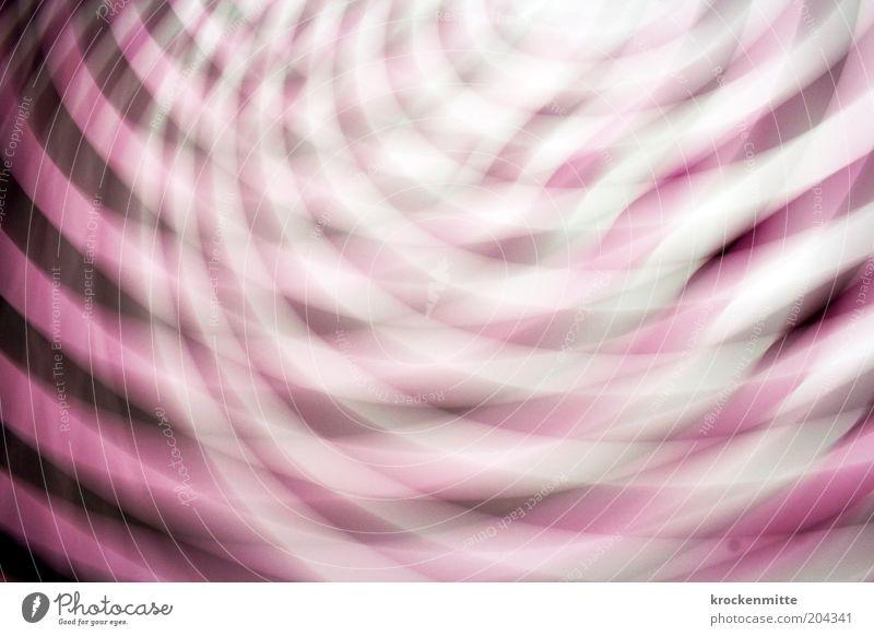 Lichterrausch Spirale drehen verstört Rausch psychedelisch Kreis kreuzen Lichterscheinung rosa weiß unlogisch überschneidung Lichtkreis Illusion Täuschung