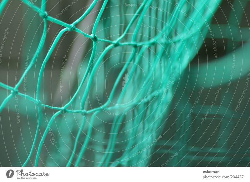 goal Tor grün Bewegung Netz Knoten Knotenpunkt Vernetzung verknüpft Fußballtor Farbfoto mehrfarbig Außenaufnahme Nahaufnahme Muster Menschenleer