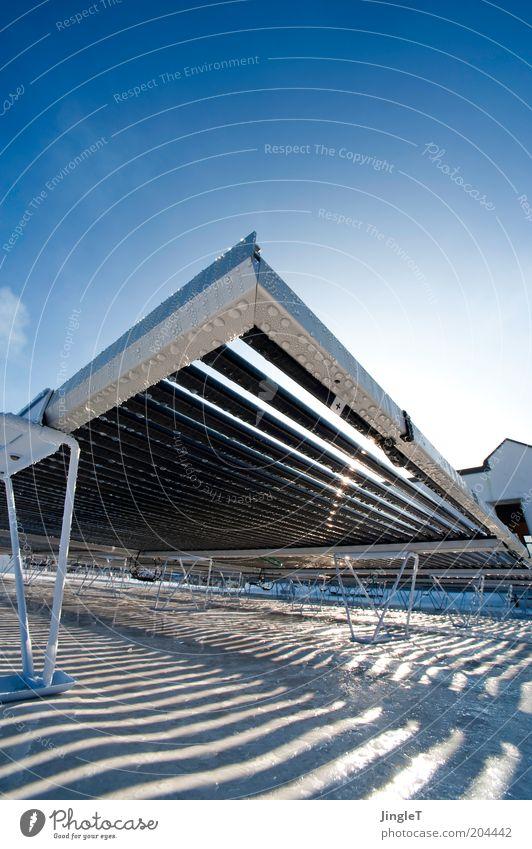 Kraftwerk Wasser Sonne Wärme glänzend Wetter Design Wassertropfen Energie modern Energiewirtschaft Zukunft Technik & Technologie Dach Klima Sonnenenergie