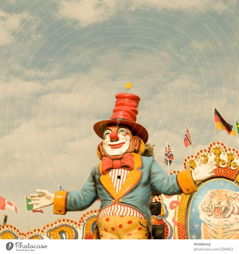 europäische union Freude Farbe Kunst Europa Fröhlichkeit Fahne Freizeit & Hobby Kitsch Kultur Show Spielzeug Lebensfreude Veranstaltung Jahrmarkt Puppe