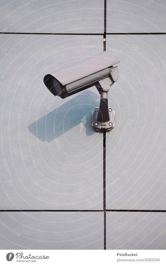 #AS# Überwachung II Hardware Videokamera Technik & Technologie High-Tech Telekommunikation Informationstechnologie Internet ästhetisch Überwachungsstaat