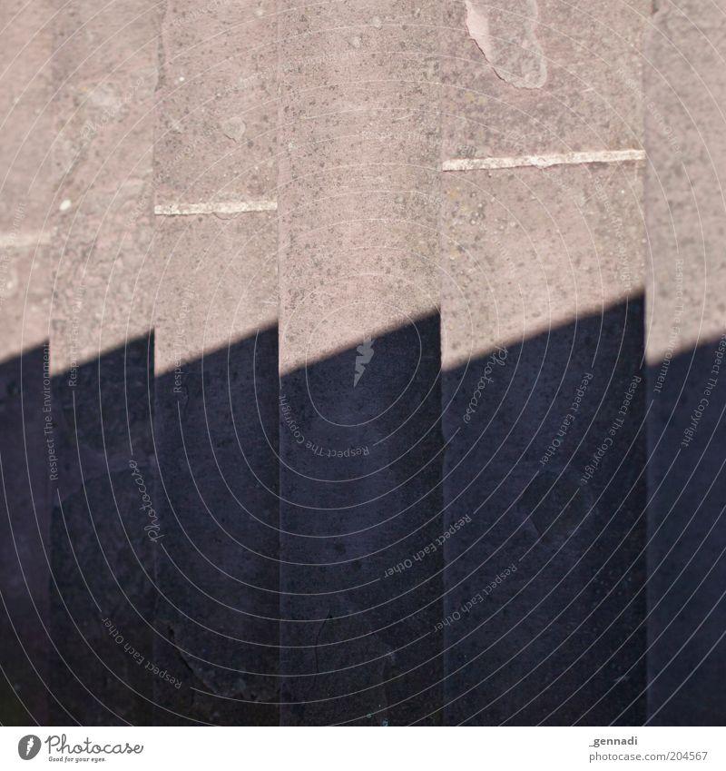 Treppe 3D Treppenabsatz hoch Schlagschatten Schatten optische Täuschung Farbfoto Außenaufnahme abstrakt Muster Strukturen & Formen Menschenleer
