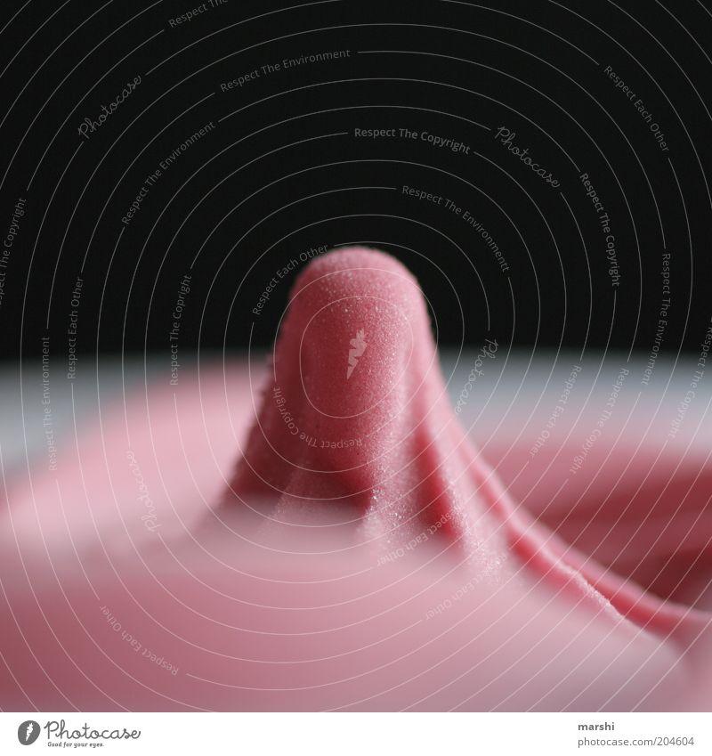 Nippel schwarz Ernährung kalt Lebensmittel rosa frisch Speiseeis süß Appetit & Hunger Süßwaren lecker Erfrischung Dessert bewegungslos Strukturen & Formen