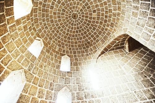 Dome von innen nach außen Architektur perfekt