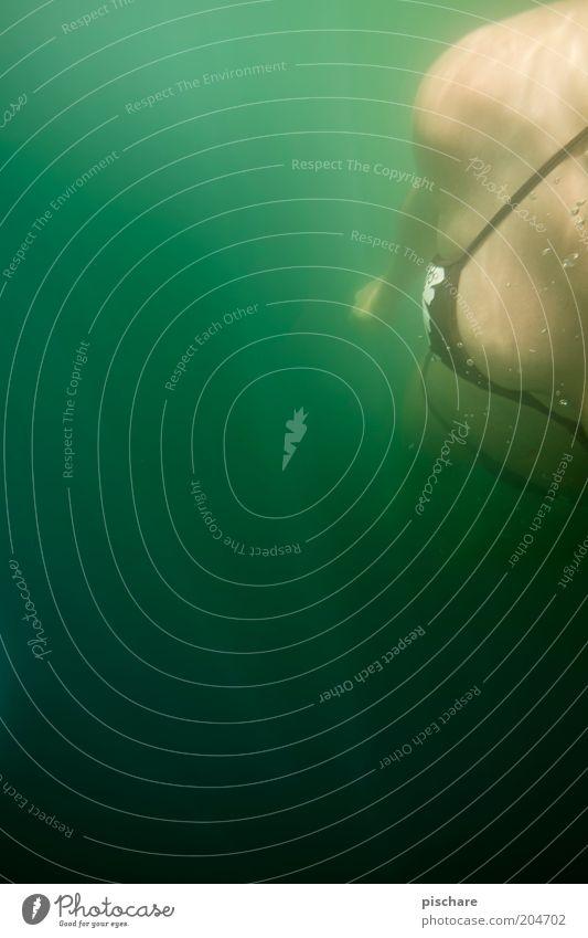 underwater love Jugendliche Wasser grün schön Sommer Meer Erwachsene feminin Schwimmen & Baden ästhetisch 18-30 Jahre Frauenbrust Junge Frau Wellness tauchen