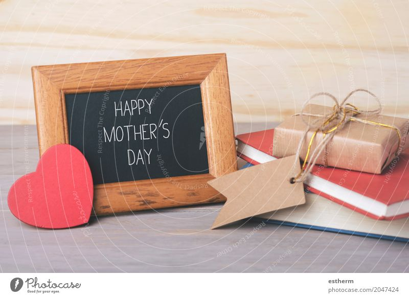schönen Muttertag Lifestyle Party Veranstaltung Feste & Feiern Mensch Eltern Erwachsene Familie & Verwandtschaft Dekoration & Verzierung Herz Gefühle