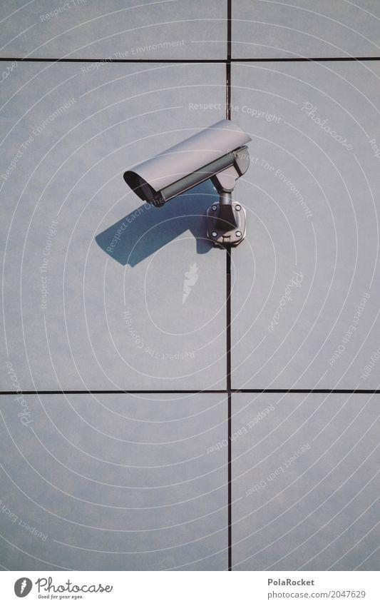 #AS# Überwachung III Hardware Telekommunikation beobachten Videokamera High-Tech Informationstechnologie Internet ästhetisch Überwachungskamera