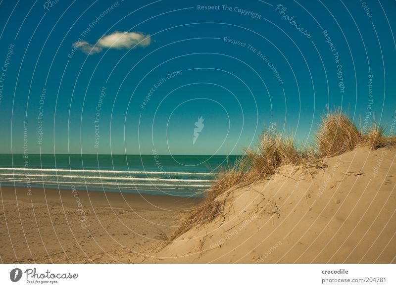 New Zealand 89 Natur Sommer Strand Ferien & Urlaub & Reisen Meer Ferne Umwelt Sand Küste Wellen Horizont Freizeit & Hobby Ausflug Insel Tourismus Stranddüne