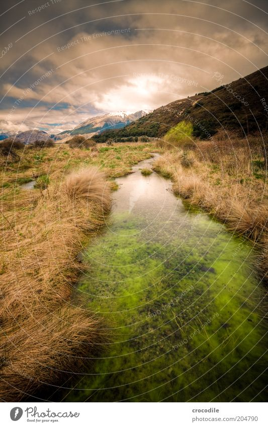 New Zealand 96 Himmel Natur Ferien & Urlaub & Reisen Ferne Erholung Berge u. Gebirge Landschaft Umwelt Insel Urelemente außergewöhnlich Alpen Reisefotografie