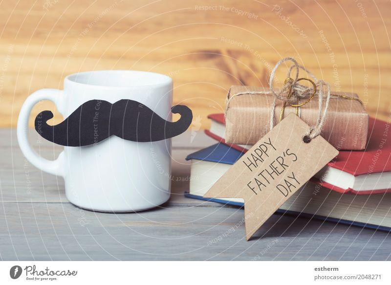 Alles gute zum Vatertag Frühstück Getränk trinken Erfrischungsgetränk Heißgetränk Milch Kakao Kaffee Latte Macchiato Espresso Tee Lifestyle Party Veranstaltung
