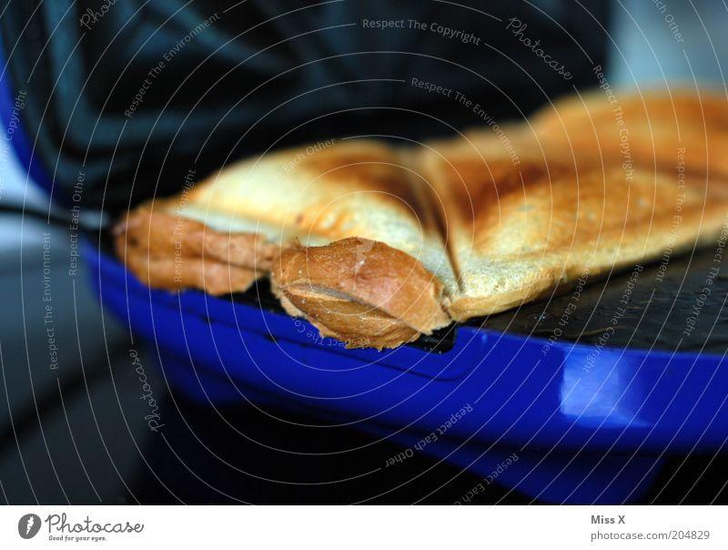wir machen ein ... blau Ernährung Lebensmittel Kochen & Garen & Backen Küche heiß lecker Appetit & Hunger Frühstück Brot Abendessen Mittagessen Backwaren