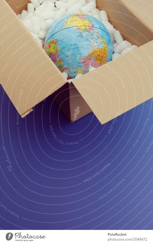 #AS# Wir Liefern Alles Kunst ästhetisch Erde Planet planetar Versendung Paket Fernweh Reisefotografie Ferien & Urlaub & Reisen reisend Reiseführer Verpackung