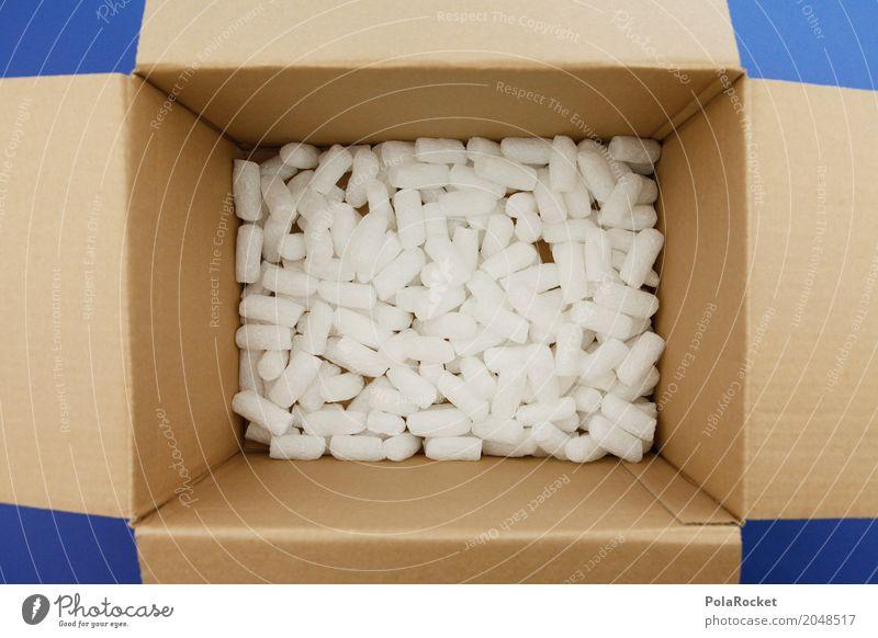#AS# leeres Paket Kunst ästhetisch Verpackung Verpackungsmaterial Karton viele ausdruckslos Menschenleer senden einpacken Post Farbfoto Gedeckte Farben