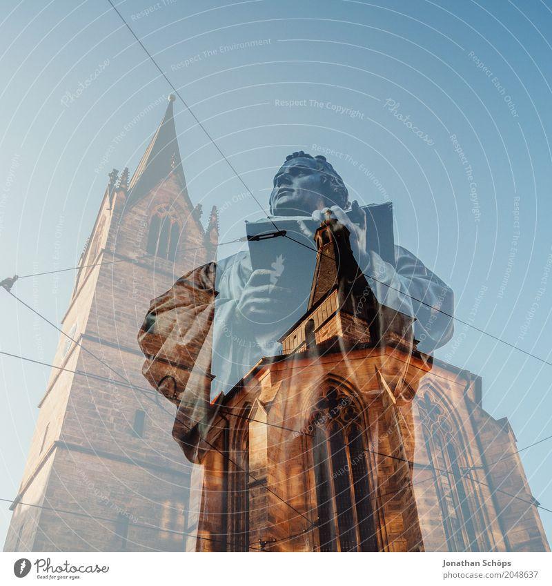 Martin Luther XX Winter Religion & Glaube 500 Jahre Reformation Anger Christentum Erfurt Protestantismus Gott Jubiläum Lutherstätten Orientierung Reformator
