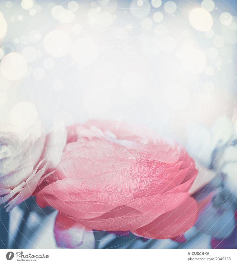 Blumen Hintergrund in Pastellton Natur Pflanze schön gelb Liebe Hintergrundbild Stil Feste & Feiern rosa Design Dekoration & Verzierung Geburtstag Romantik