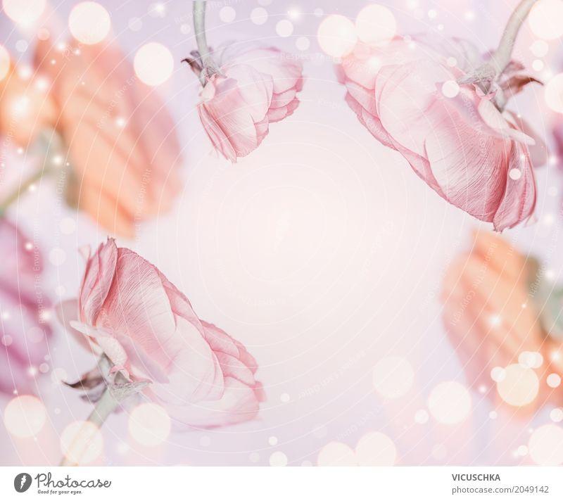 Pastell rosa Blumen Hintergrund Stil Design Feste & Feiern Valentinstag Muttertag Hochzeit Geburtstag Natur Pflanze Blüte Dekoration & Verzierung Blumenstrauß