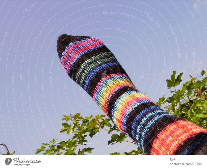 Ringelsocke Strümpfe Ringelsocken Freizeit & Hobby Fuß Beine Wärme
