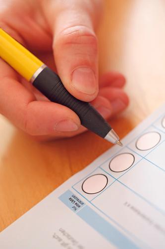 #AS# Wahl-Bingo Hand Kunst ästhetisch geheimnisvoll Kreuz Meinung Schreibstift Kunstwerk wählen Auswahl Wahlen Handschrift kreuzen füllen demokratisch