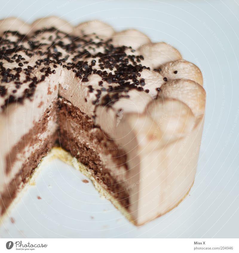 Schokotorte für Erdbeertorte Ernährung Lebensmittel Feste & Feiern süß Kuchen lecker Fett Festessen Torte Backwaren Teigwaren Dessert Speise ungesund Sahne