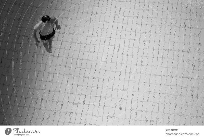 unter.wasser.mann! Lifestyle Schwimmen & Baden Sport Fitness Sport-Training Wassersport Sportler tauchen Schwimmbad Mensch maskulin Mann Erwachsene 1