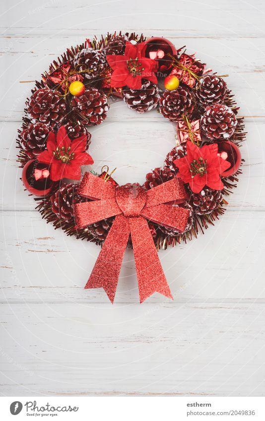 Frohe Weihnachten, Weihnachtsverzierung Lifestyle Freude Winter Winterurlaub Haus Dekoration & Verzierung Feste & Feiern Weihnachten & Advent Kugel glänzend rot