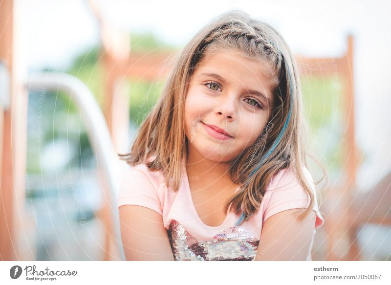 hübsches Mädchen Mensch Kind Ferien & Urlaub & Reisen Sommer schön Freude Lifestyle Frühling Gefühle lustig feminin lachen klein Freiheit Freizeit & Hobby