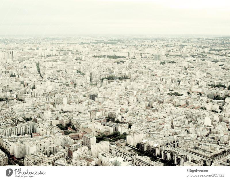 Paris meine Perle Stadt Sommer Ferne Horizont Ausflug Unendlichkeit Paris Aussicht Frankreich Stadtzentrum Hauptstadt Bekanntheit Altstadt überblicken Tour d'Eiffel Überblick