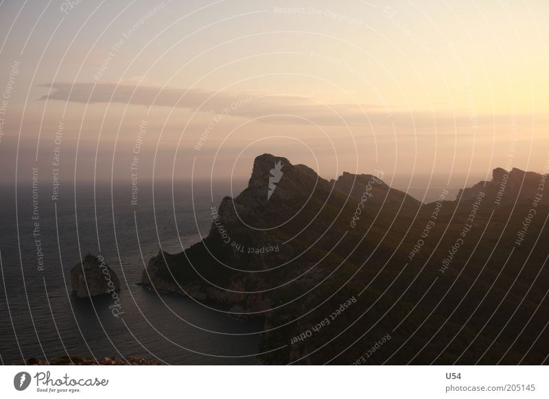 Cap Formentor Wasser Himmel Sommer Landschaft Insel Mittelmeer Kap