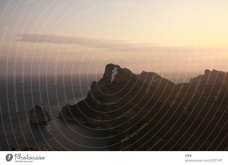 Cap Formentor Wasser Himmel Sommer Landschaft Insel Mittelmeer Kap Cap Formentor