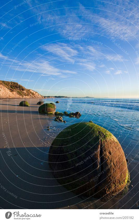 New Zealand 127 Natur alt Meer Strand Wolken Sand Landschaft Küste Umwelt Felsen ästhetisch Insel rund authentisch bedrohlich außergewöhnlich