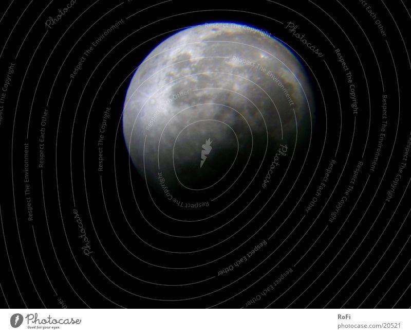 Noch'n bisserl Mondfinsternis Himmelskörper & Weltall Astronomie Vulkankrater Nacht
