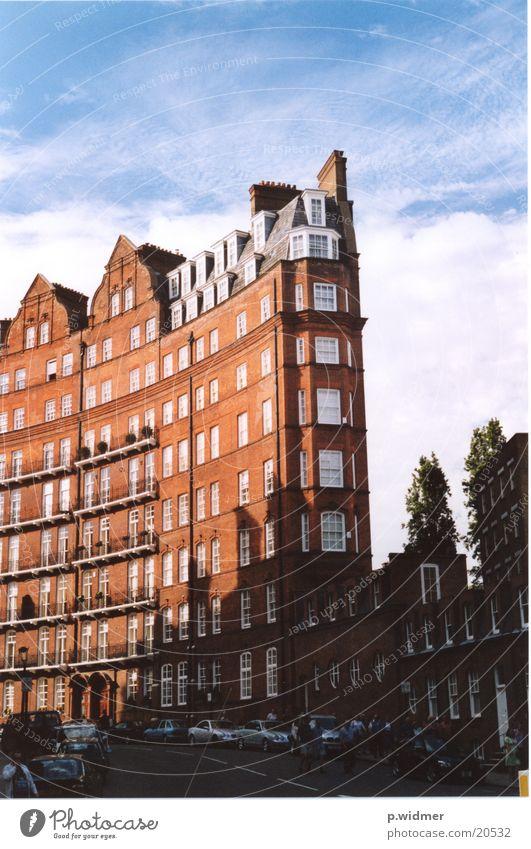 house Stadt rot Haus Architektur Backstein London England Bogen