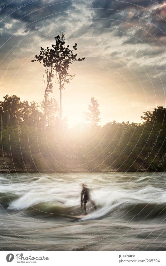 Life... Himmel Natur Wasser schön Sommer Freude Wolken Sport Bewegung Wellen Freizeit & Hobby ästhetisch außergewöhnlich sportlich Sonnenaufgang Lebensfreude