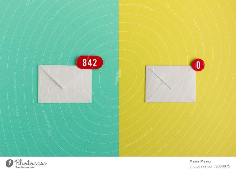 Inbox null sprechen Zeit Arbeit & Erwerbstätigkeit Ordnung Kommunizieren Erfolg leer Geschwindigkeit lesen Symbole & Metaphern schreiben Stress Brief E-Mail