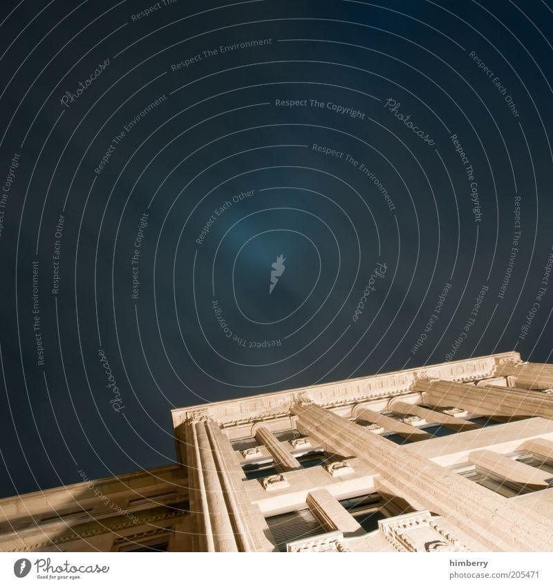prada invest Haus Gebäude Beleuchtung Architektur Design Fassade Baustelle Burg oder Schloss Denkmal Bauwerk historisch Wahrzeichen Säule Düsseldorf
