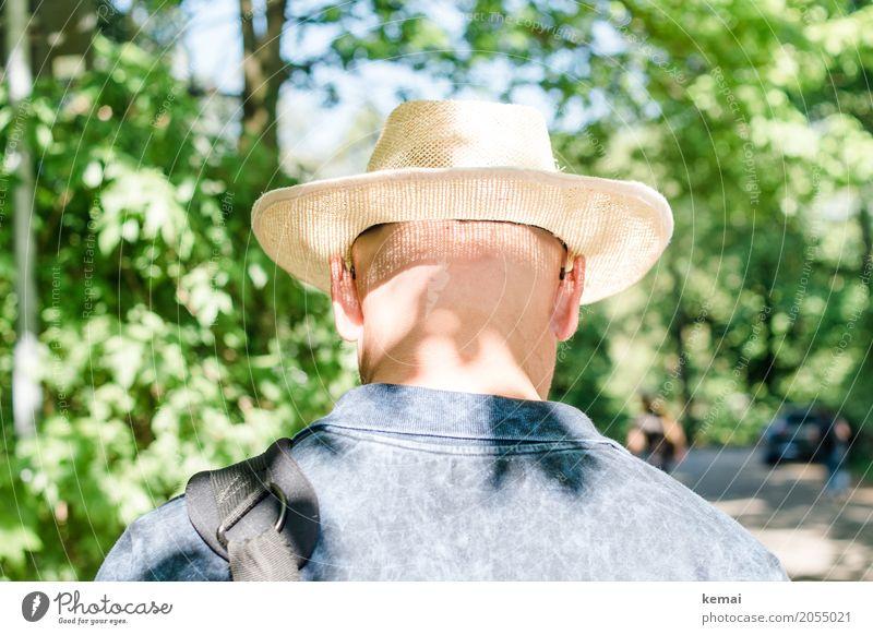AST10 | Netzhaut Mensch Natur Ferien & Urlaub & Reisen Mann grün Baum Erholung ruhig Erwachsene Leben Lifestyle Stil Freiheit Ausflug Freizeit & Hobby