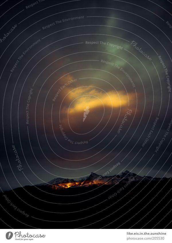 Tor zum Himmel*** Ferne Freiheit Sommer Berge u. Gebirge Umwelt Natur Landschaft Urelemente Wolken Gewitterwolken Nachthimmel Sonnenlicht Wetter Unwetter Hügel