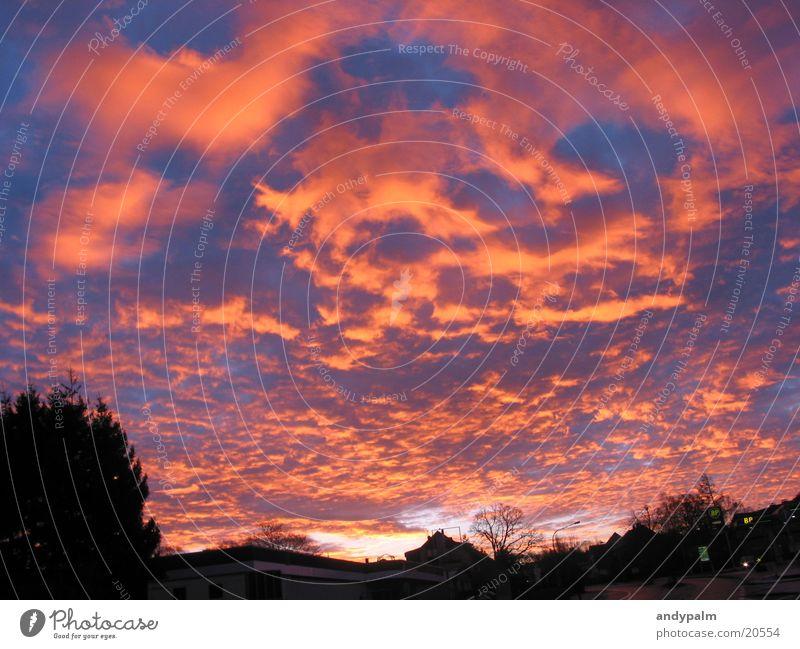 Sonnenaufgang Natur Wolken