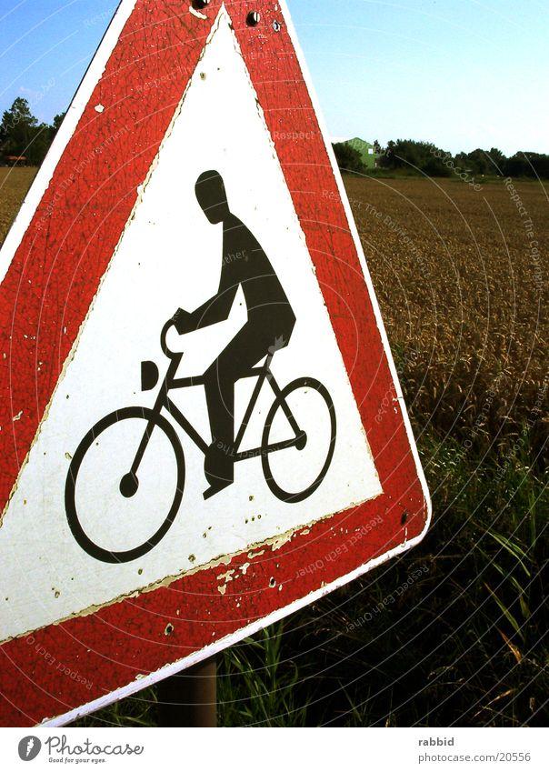 Achtungfahrrad Fahrrad Schilder & Markierungen Respekt Amerika