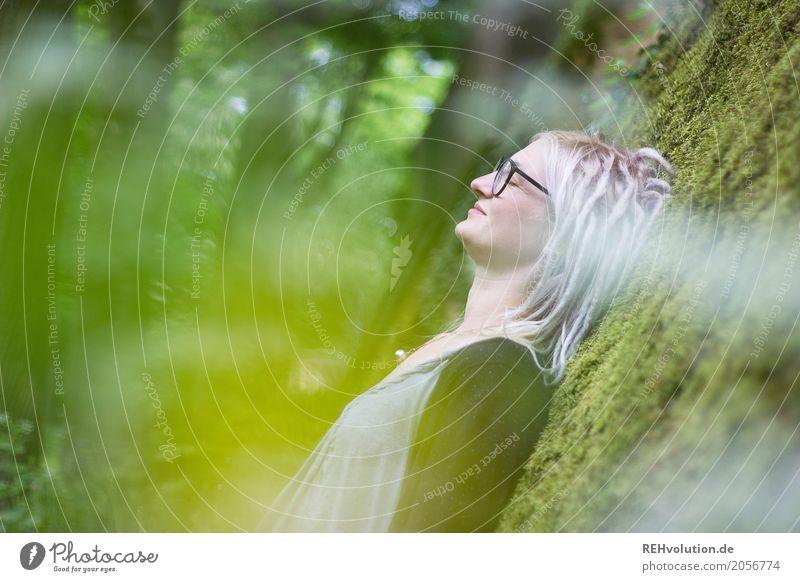 Jules | traumwelt Mensch Frau Natur Jugendliche Junge Frau Baum Erholung ruhig Wald 18-30 Jahre Gesicht Erwachsene Umwelt feminin Stil Glück
