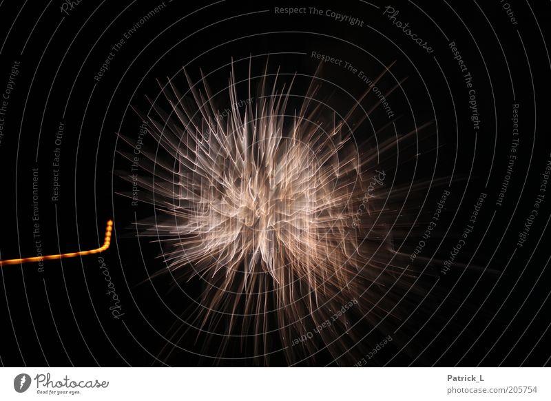 feuer frei schwarz gelb Kraft Feste & Feiern gold Energie gefährlich Silvester u. Neujahr einzigartig Unendlichkeit außergewöhnlich leuchten Feuerwerk