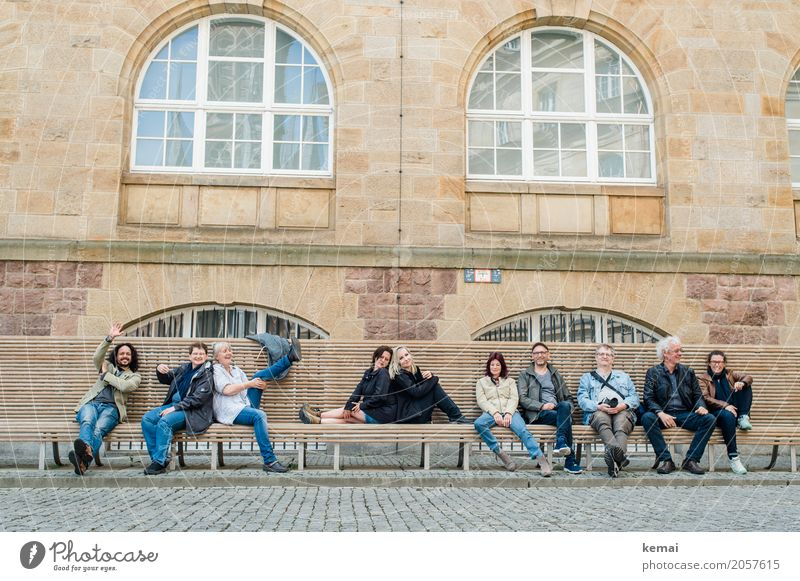 AST10 | Abschlussgruppenbild Frau Mensch Ferien & Urlaub & Reisen Mann Erholung ruhig Freude Fenster Erwachsene Leben Lifestyle feminin Tourismus Menschengruppe
