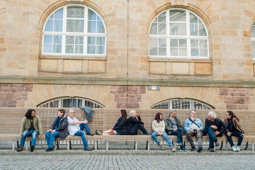 AST10 | Die Gruppe Lifestyle Leben Wohlgefühl Zufriedenheit Erholung Freizeit & Hobby Ferien & Urlaub & Reisen Ausflug Sightseeing Städtereise Mensch maskulin