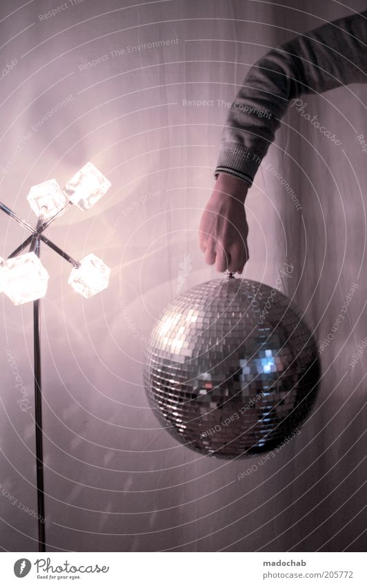DiskoTorrero Lifestyle elegant Stil Design Nachtleben Entertainment Party Veranstaltung Musik Discokugel Feste & Feiern Leben Arme Lebensfreude Vorfreude