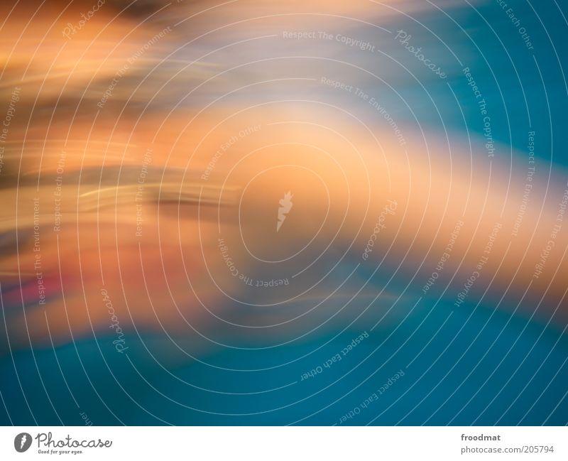 meeresrauschen Mensch Bewegung tauchen Schwimmen & Baden geheimnisvoll Rausch Surrealismus Bewegungsunschärfe harmonisch Verzerrung Unschärfe abstrakt Aktion